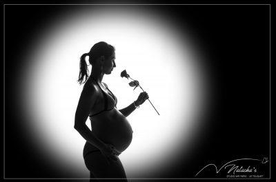 Photos de grossesse en contre jour