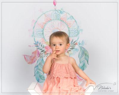 Séance photo attrape-rêve pour enfant en Studio