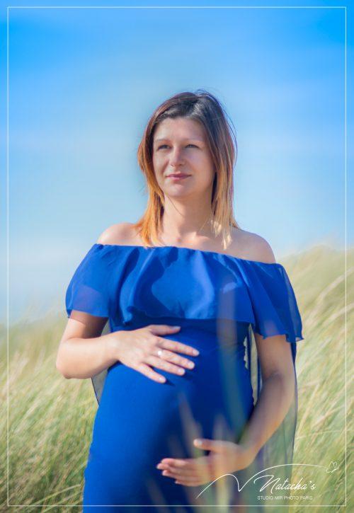 Shooting photos femme enceinte au Touquet