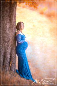 Séance future maman aux couleurs d'automne