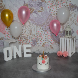 Smash the cake - licorne
