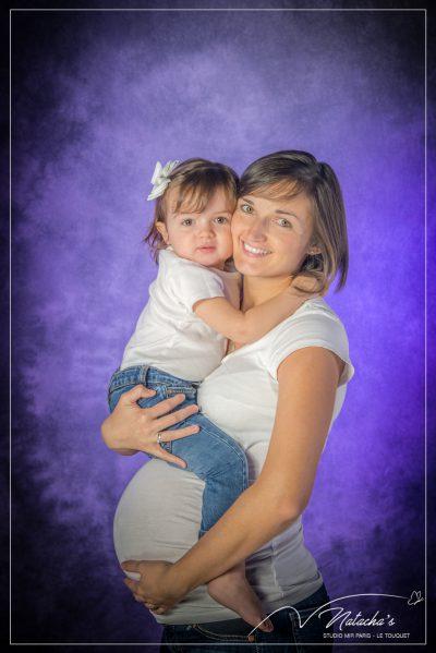 Shooting grossesse en famille
