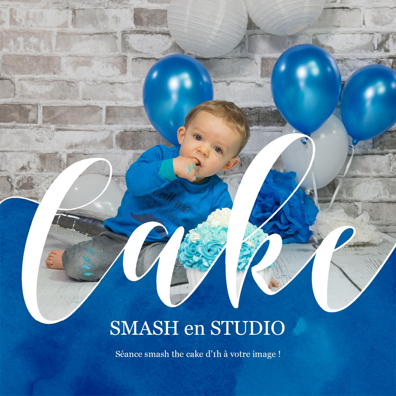 Smash the cake pour un petit gars