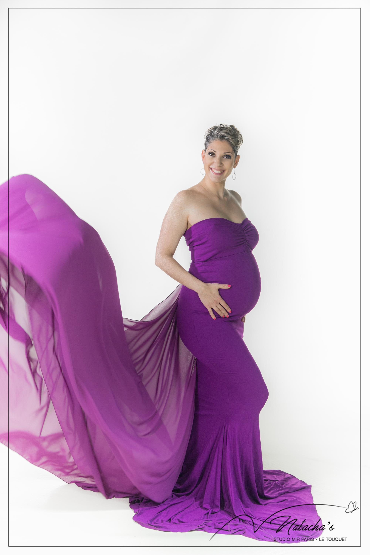 Séance grossesse en studio dans le Val de Marne