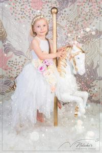 Shooting jolie licorne en Studio