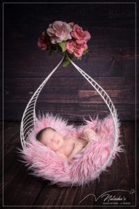 Photographe nouveau-né pour jumelles en Studio proche de Paris