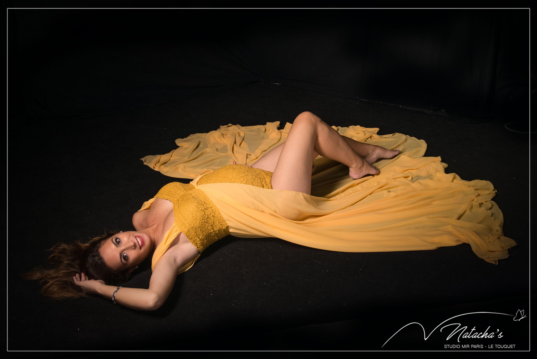 Photographe grossesse en Studio à Saint Maur des Fossés