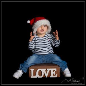 Shooting photos en famille pour Noël