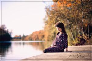 Séance grossesse en extérieur à Saint-Maur des Fossés