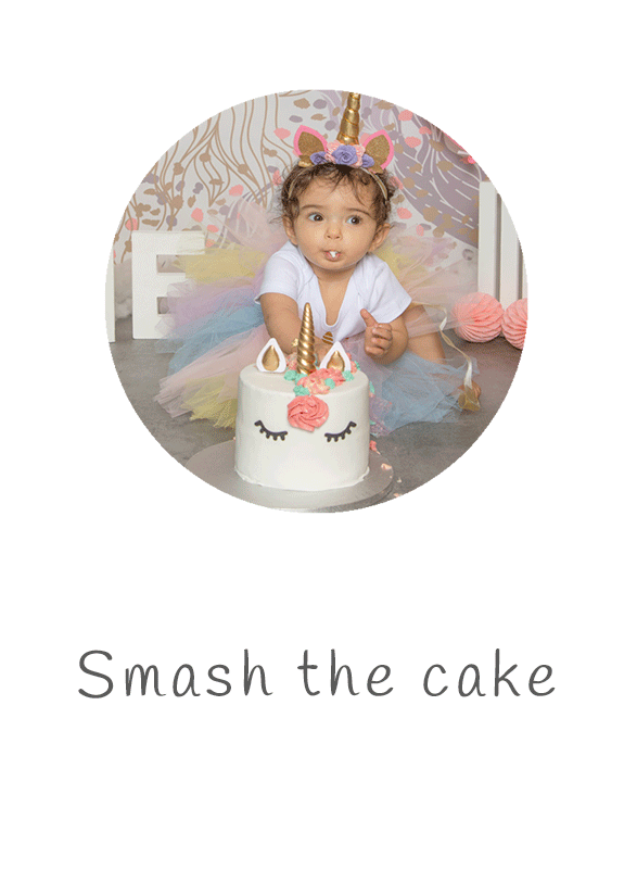 Photographe smash the cake dans le Val de Marne