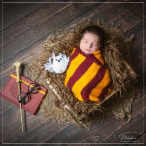 Photographe nouveau-né thème Harry Potter - 94