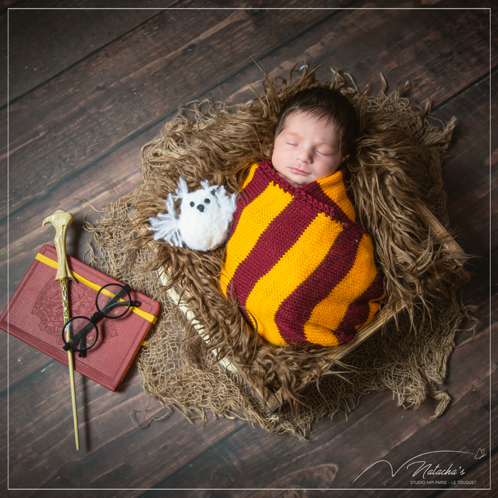 photographe--nouveau-ne-theme-harry-potter