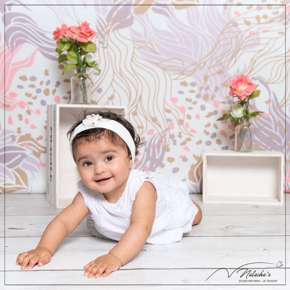 Photographe enfants : Séance photo bébé premiers mois en Ile de France