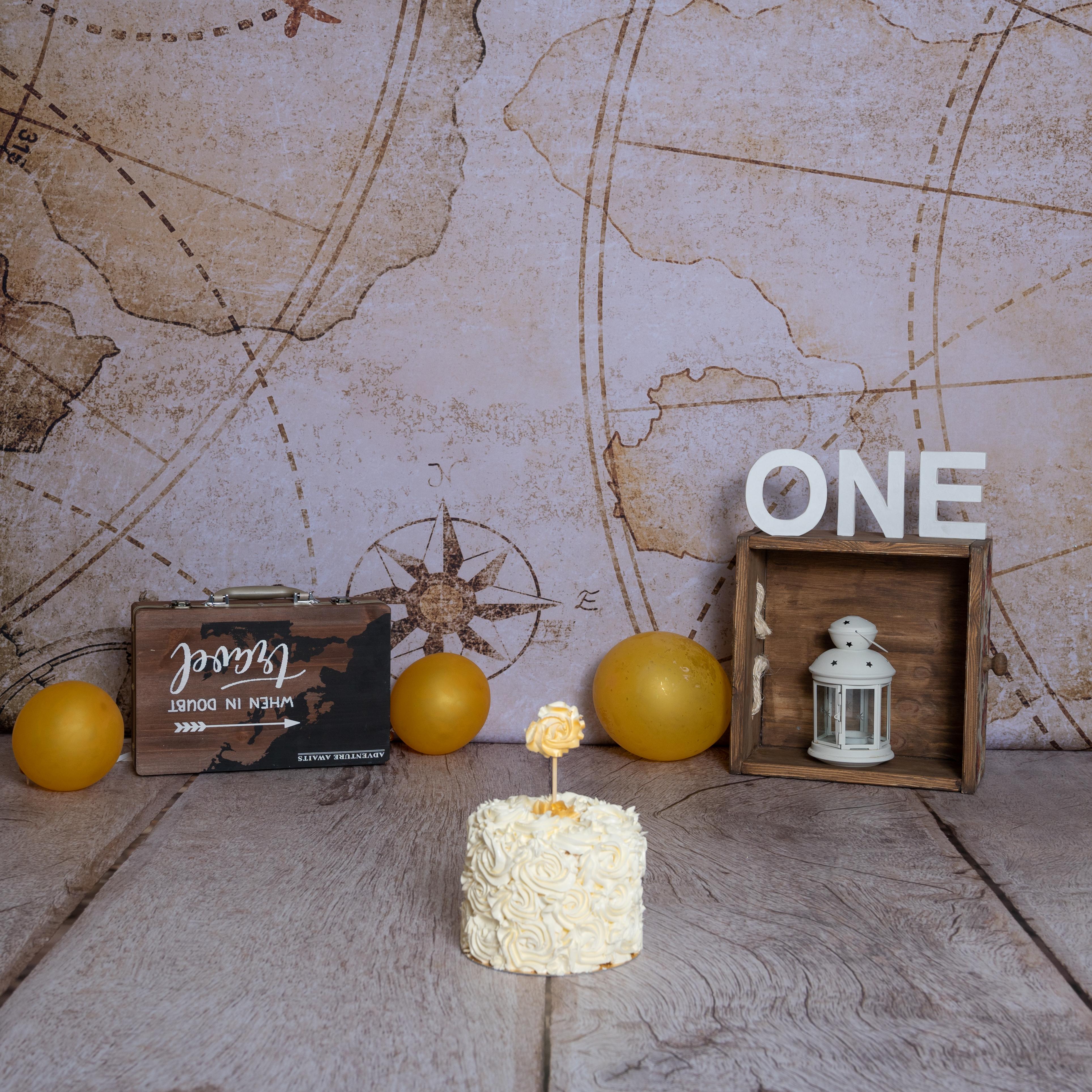 Smash the cake thème voyage à paris