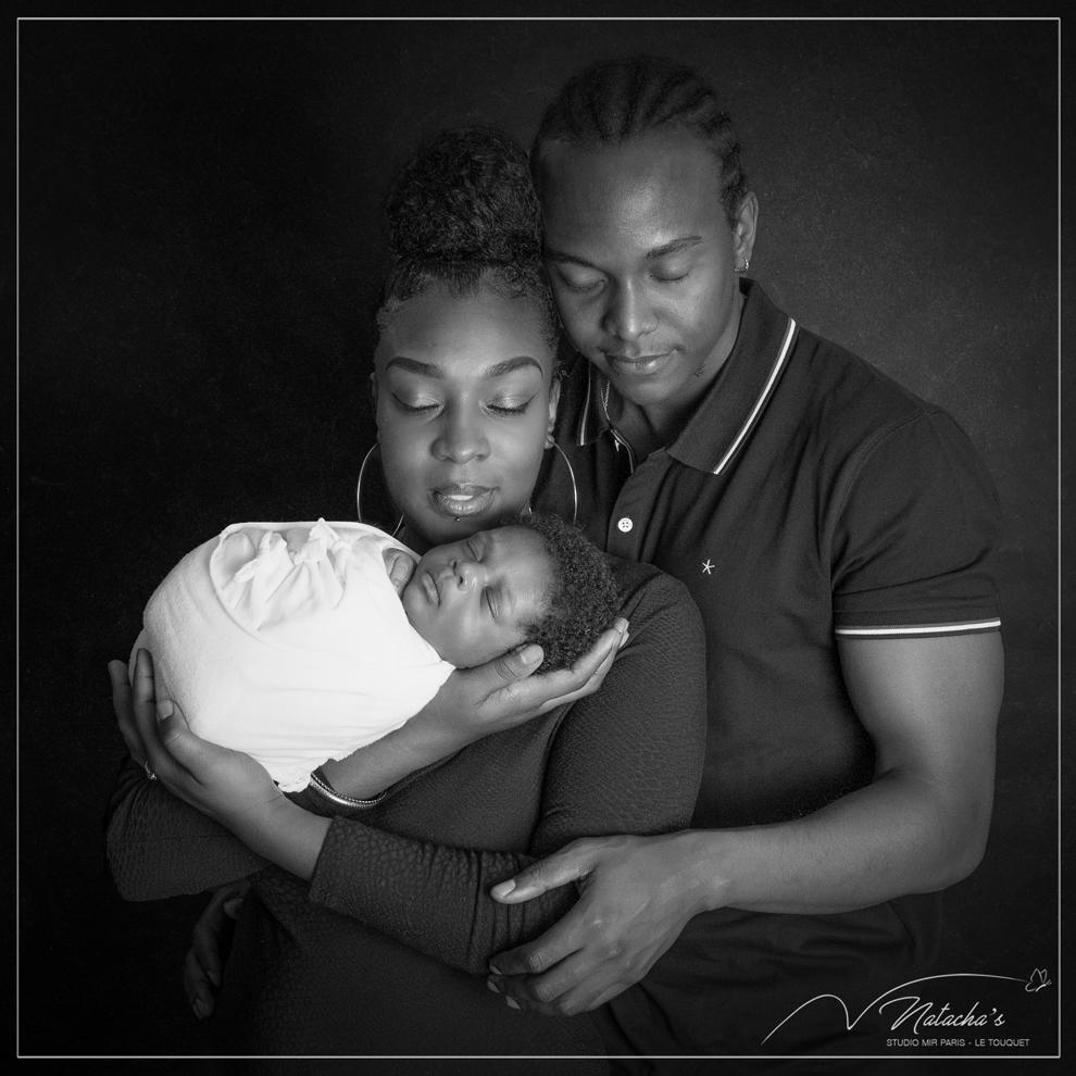 Shooting photo naissance en famille proche de Paris