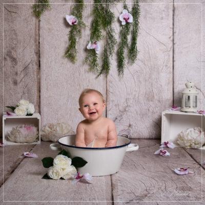 Shooting bain de lait pour enfant dans le Val de Marne
