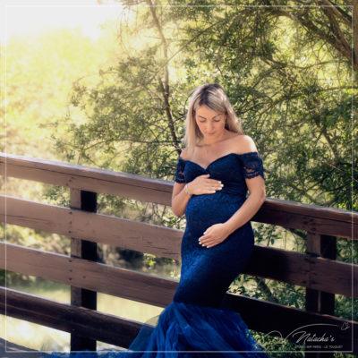 Shooting grossesse extérieur dans le Val de Marne