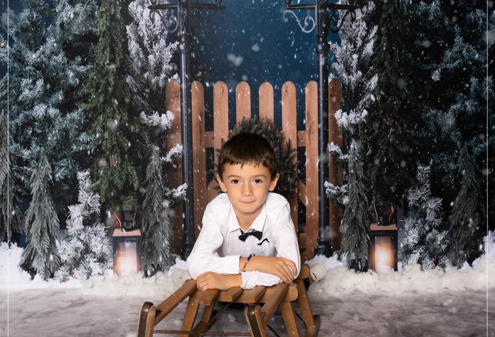 Shooting photos Noël en Studio dans le Val de Marne