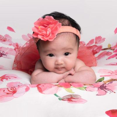 Séance photo bébé 2 mois dans le Val de Marne