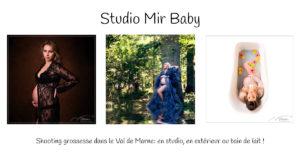 Shootingr grossesse dans le Val de Marne: en studio, en extérieur ou bain de lait !
