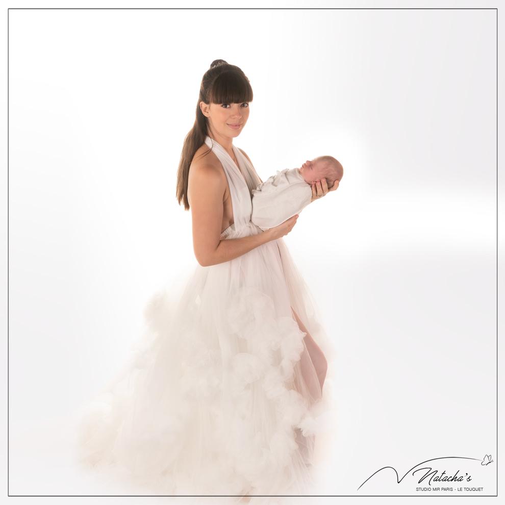 """Shooting naissance """"maman et moi"""" en Studio - 94"""