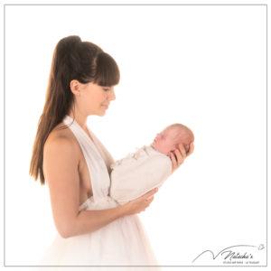 Shooting naissance maman et moi en Studio - 94