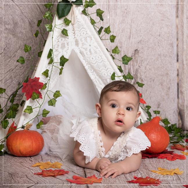 Séance photo bébé en studio dans le Val de Marne