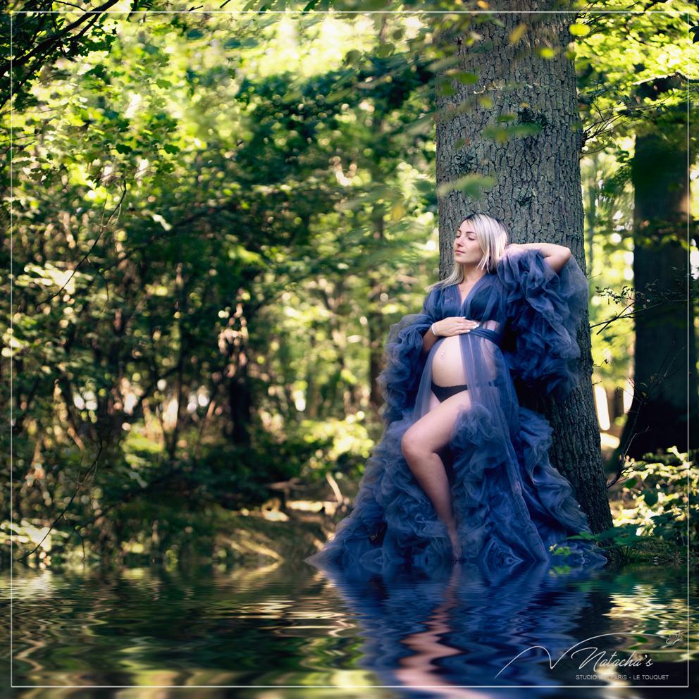 Shooting grossesse en extérieur dans le Val de Marne