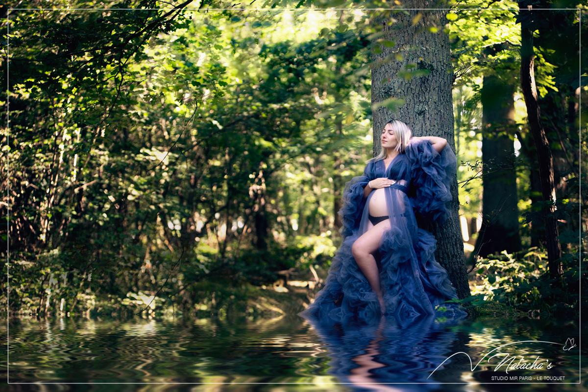 Shooting photos grossesse en extérieur dans le Val de Marne