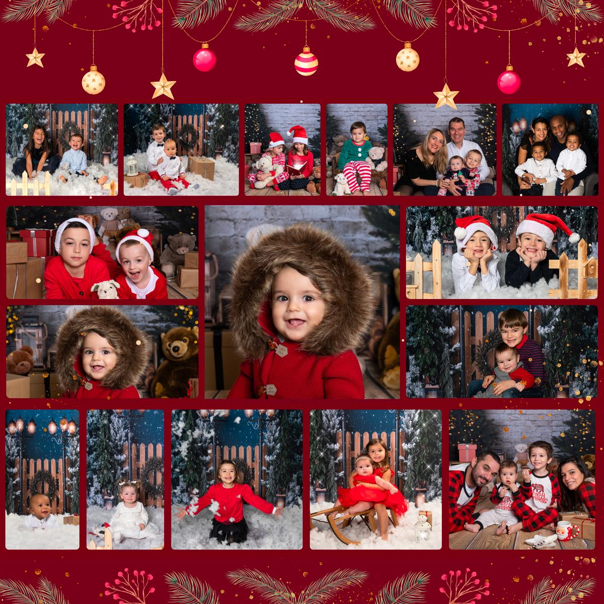 Shooting Noël 2020 au Studio Mir Baby