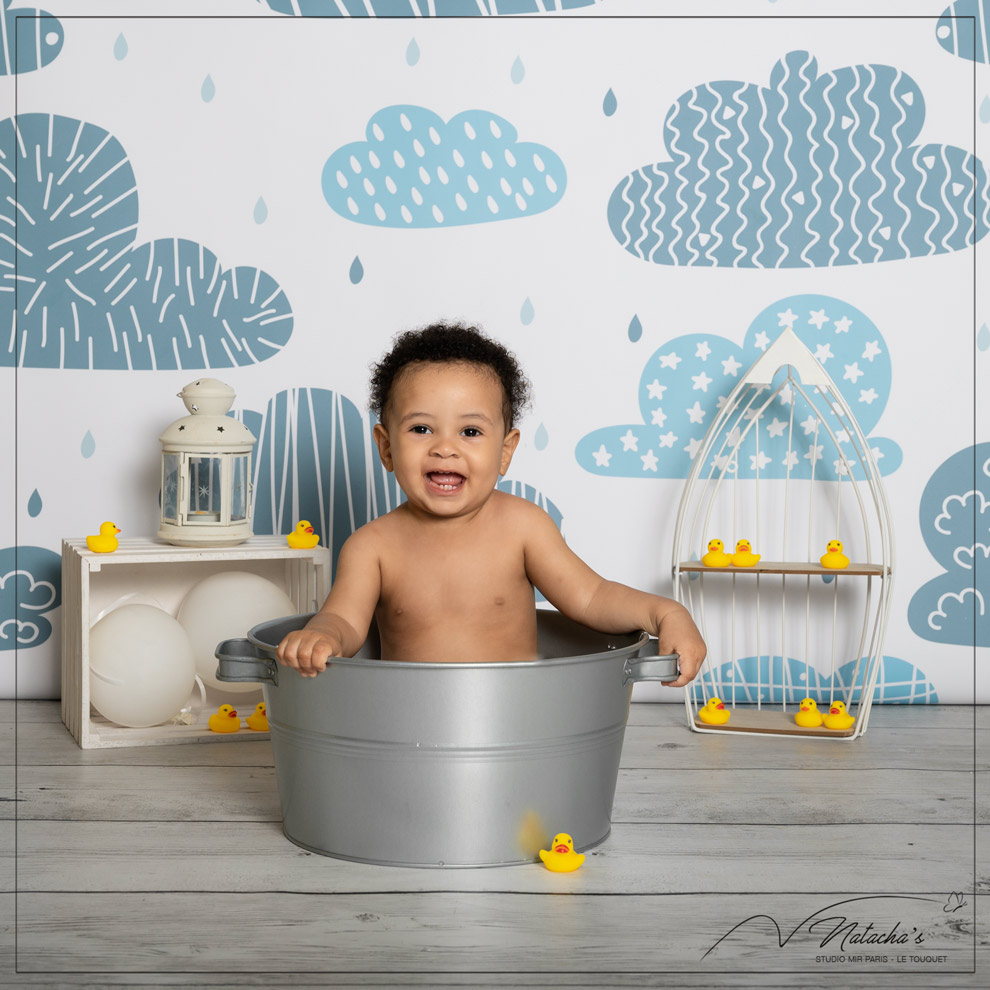 Séance bain pour bébé dans le Val de Marne