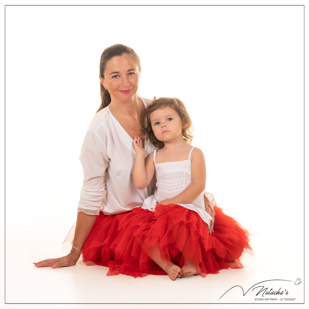 Photographe maman et moi en studio à Saint Maur des Fossés