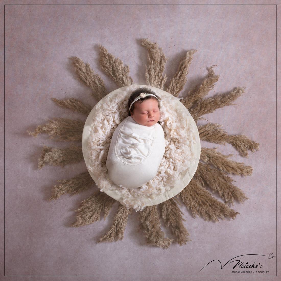Séance photo naissance en studio dans le Val de Marne