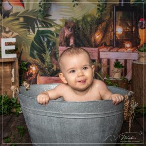 Séance photo anniversaire thème jungle