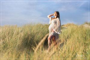 Photographe femme enceinte : séance photo grossesse au Touquet