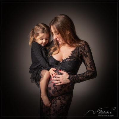 Shooting grossesse mère fille dans le Val de marne