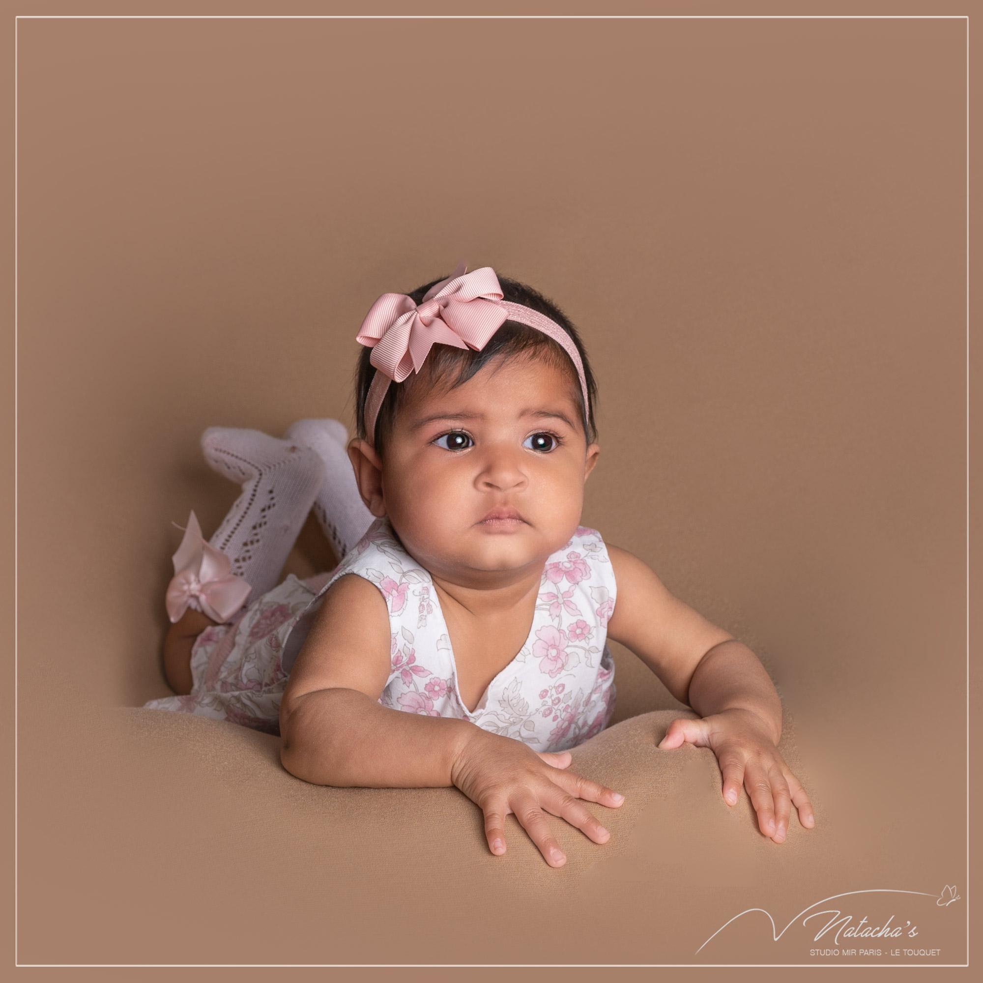 Séance photo bébé de 3 mois dans le Val de Marne